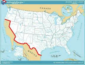 administration releases map of proposed border wall