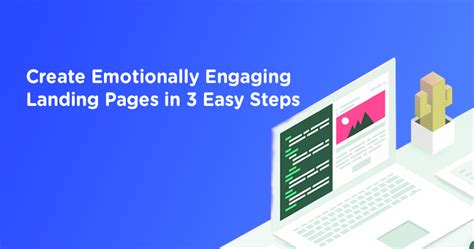3 simple steps to build your blog using wordpress cms create emotionally engaging landing pages in 3 easy steps