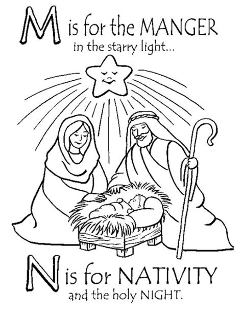 preschool nativity coloring pages free 27 best drawing images on pinterest christmas crafts