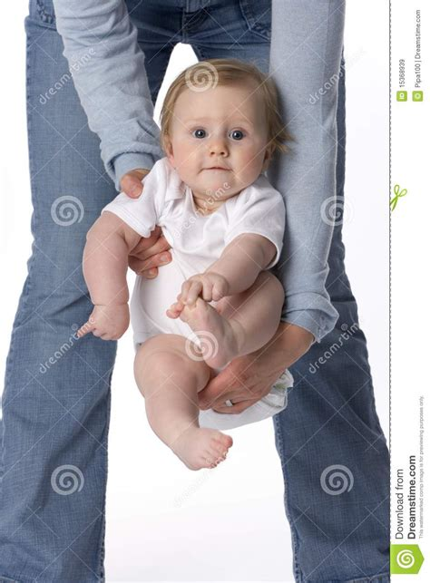 baby swinging video baby swinging in mothers arms royalty free stock images