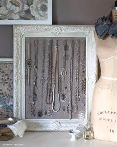 Kitchen Pegboard Ideas diy antiqued frame jewelry display