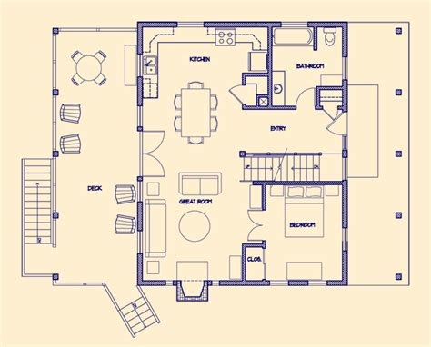 Cabin Floor Plans by 21 Stunning Cabin Floor Plan House Plans 39754