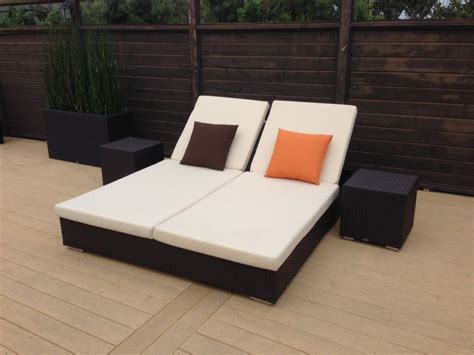 chaise lounge ideas outdoor double chaise lounge design the homy design