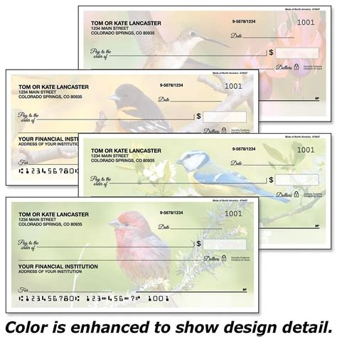 America Background Check Birds Of America Single Checks Current Catalog