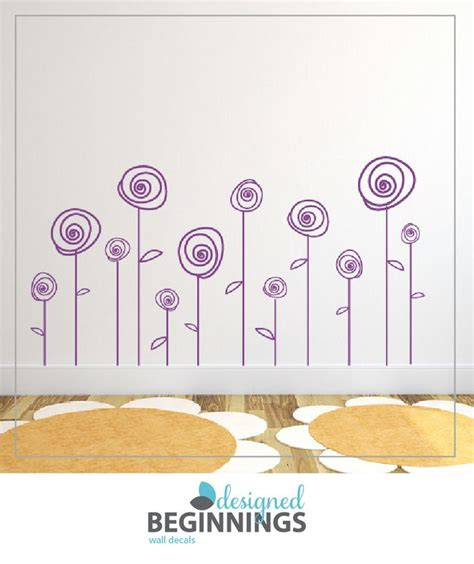 flower wall decals for nursery 25 best ideas about flower wall decals on