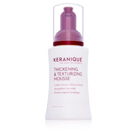 where to buy keranique hair product keranique thickening and texturizing mousse dermstore