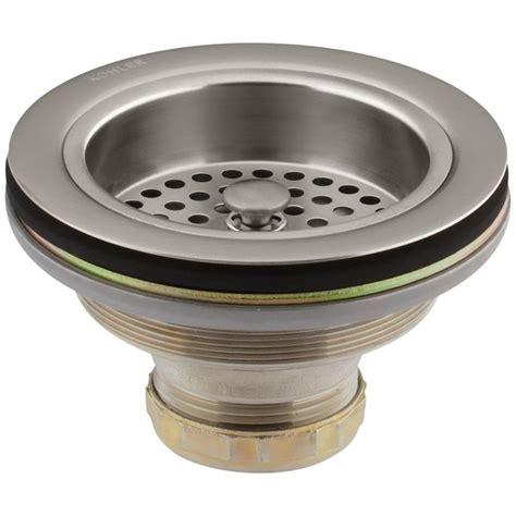1 1 4 to 1 1 2 sink drain adapter kohler duostrainer 4 1 2 in sink strainer in vibrant
