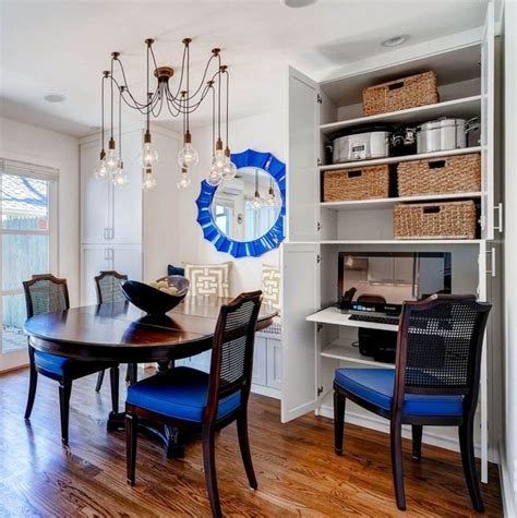 small dining room organization clever storage solutions for a small space contemporary