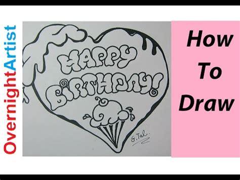 write happy birthday letters