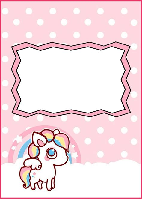 printable unicorn template free printable baby unicorn invitation template