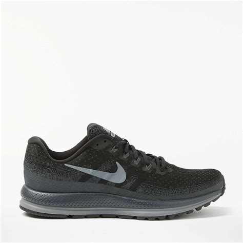 nike air zoom vomero 13 s running shoes black anthracite at lewis