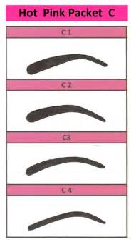 eyebrow templates printable top printable eye brow stencils home free stencil