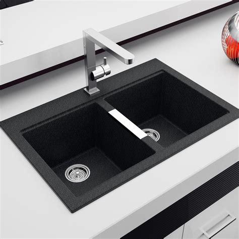 black kitchen sinks sinks extraordinary black granite sink black granite sink cleaning granite composite sinks
