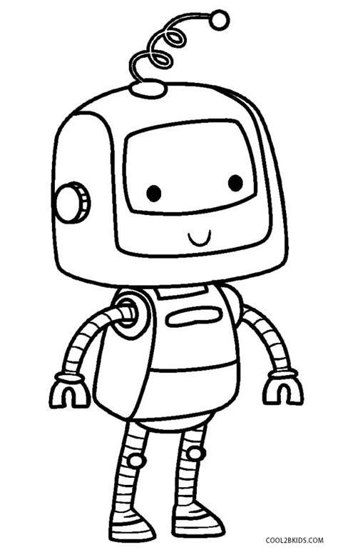 preschool robot coloring pages cool robot coloring pages