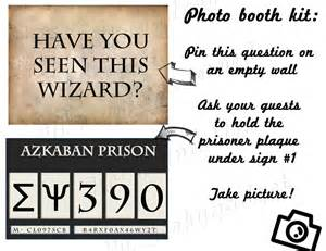 this is your template hp photo booth prisoner of azkaban harry potter by geekygadget