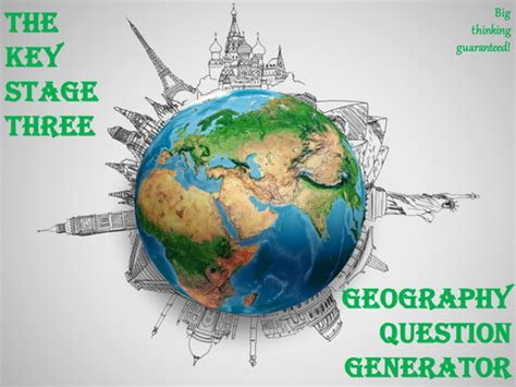 Or Question Generator The Key Stage Three Geography Question Generator By Mikegershon Teaching Resources Tes