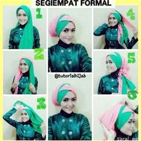 tutorial jilbab tumpuk aneka tutorial hijab modern tumpuk silang dua warna