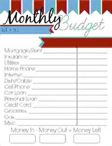 6 printable budget sheets procedure template sample