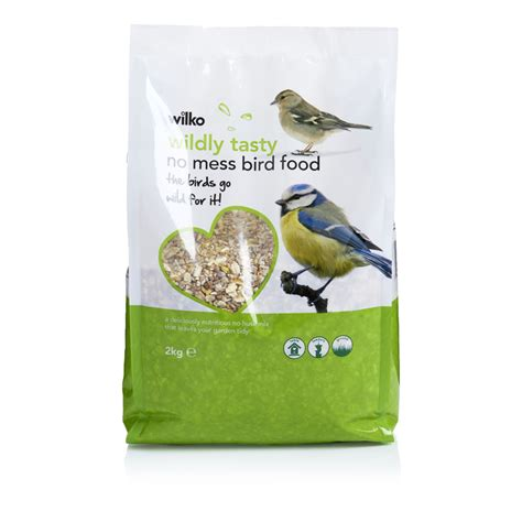 wilko wild bird no mess seed 2kg at wilko com