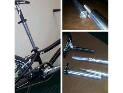 mountain bike seat post extension bike seat post extension pictures to pin on