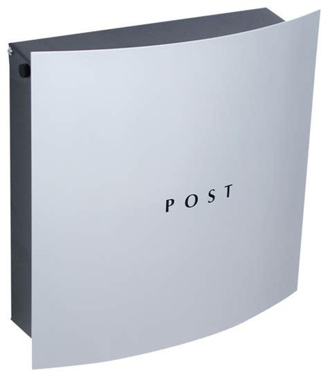 modern wall mount mailbox grey wall mount mailbox contemporary