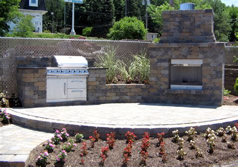 outdoor grill and fireplace designs outdoor kitchens built in grills outdoor fireplaces and