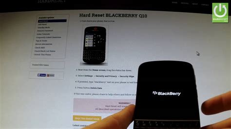 soft reset blackberry q10 hard reset blackberry q10 bypass password in blackberry
