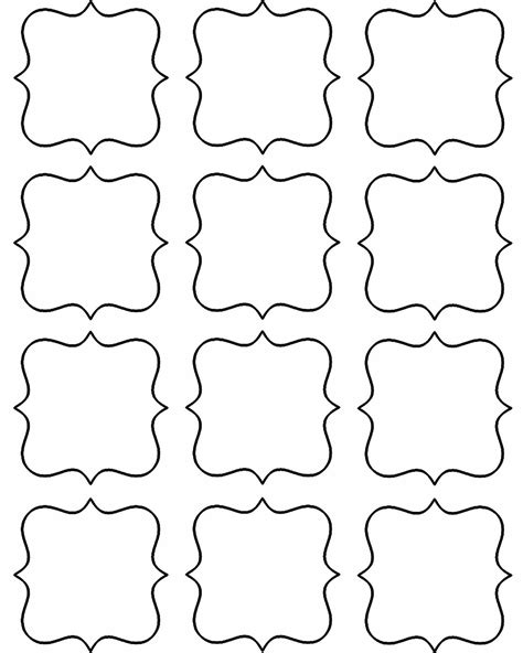 free blank label templates doodlecraft freebie week gift tags and labels gifts