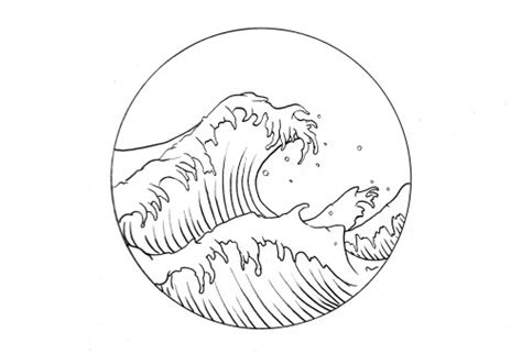 simple sketches sketches and waves on waves line drawing at getdrawings free for