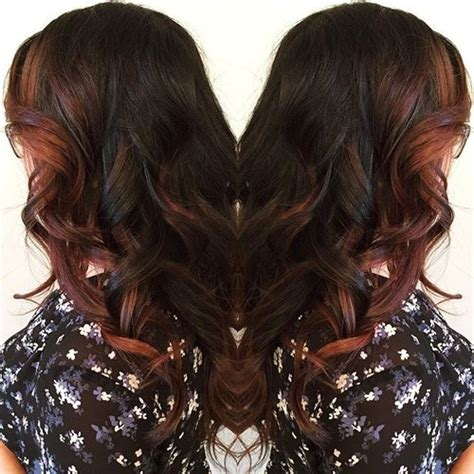 35 scrumptious vibrant hues for chocolate brown hair 40 scrumptious vibrant hues for chocolate brown hair