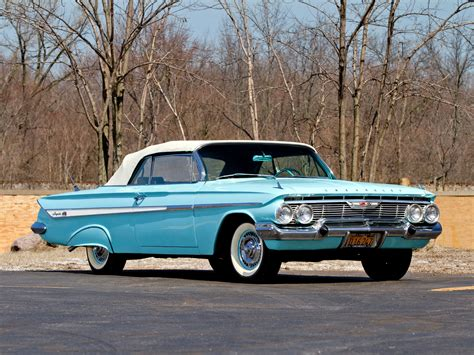1961 chevrolet impala ss convertible retro classic