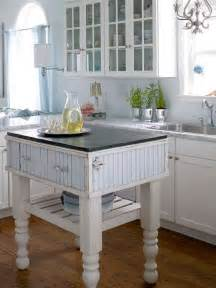 Small Kitchen With Island Small Space Kitchen Island Ideas