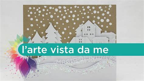 tutorial scrapbooking natalizio card magia di natale scrapbooking tutorial natale fai da te