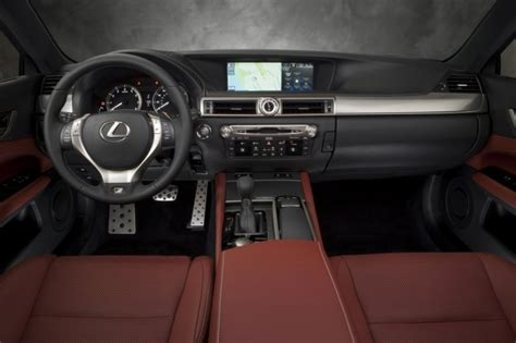 lexus gs350 f sport interior 2014 lexus gs350 f sport awd review