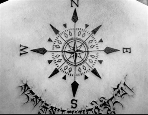 compass tattoo russian point cardinaux tatouage pinterest cardinals points