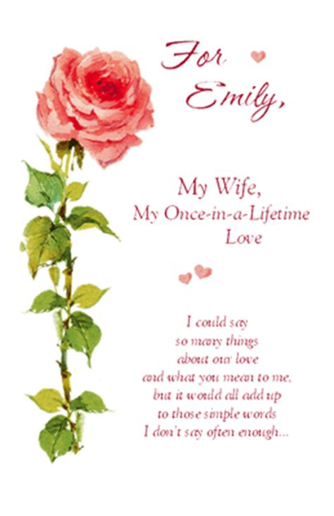 printable anniversary cards for wife quot i m glad you re my wife quot anniversary printable card