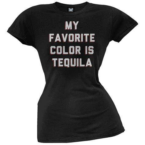 what color is my shirt my favorite color is tequila juniors t shirt ebay