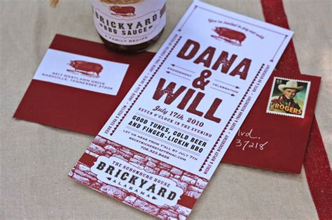 backyard bbq engagement party ideas bbq engagement party invitations