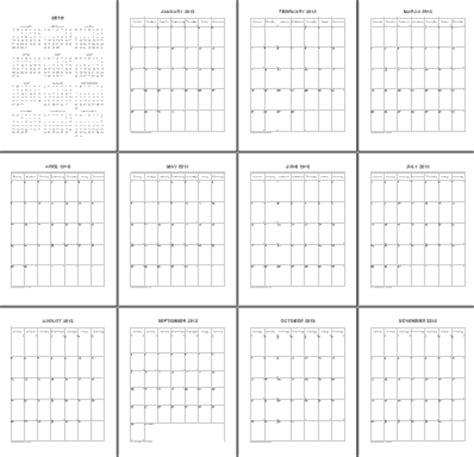 Calendar 2018 Whole Year Print 2018 No Frills Year Calendar Duplex Or Single