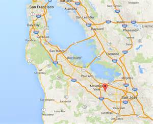 california map silicon valley map california cities silicon valley