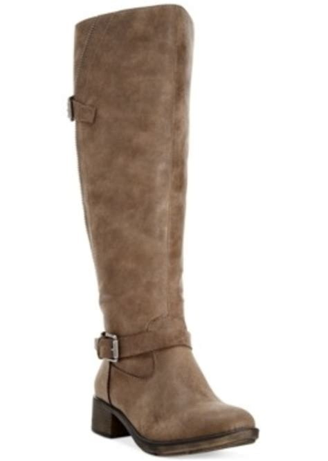 macys womans boots style co style co gayge wide calf boots only