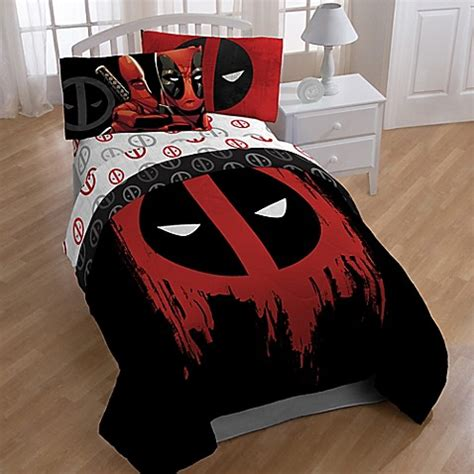 Deadpool Bedroom by Marvel 174 Deadpool Bedroom Set Bed Bath Beyond