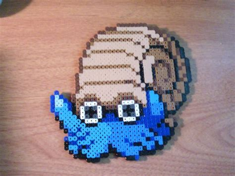 gray perler 17 best images about pacomer on perler