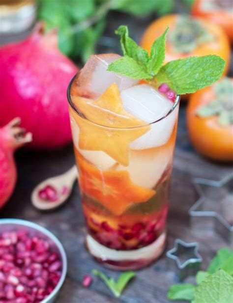 sujeonggwa spice up your holiday with persimmon punch 10 party perfect persimmon recipes