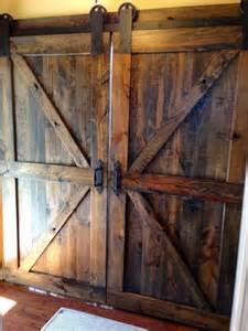 Barn Door Gates Brace Barn Doors Walnut By Dixonanddad On Etsy Barn Doors