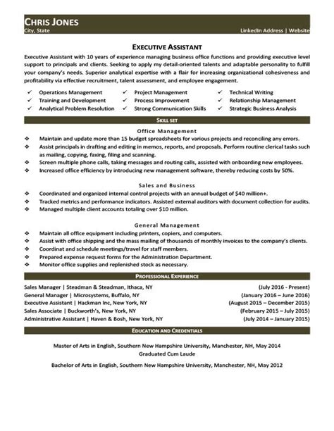 executive level resume templates resume template executive level resume templates free