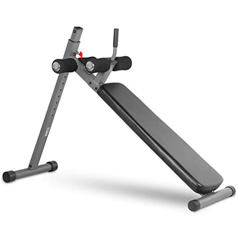 xmark ab bench xmark 12 position ergonomic adjustable decline ab bench xm 4416 1 gray or white