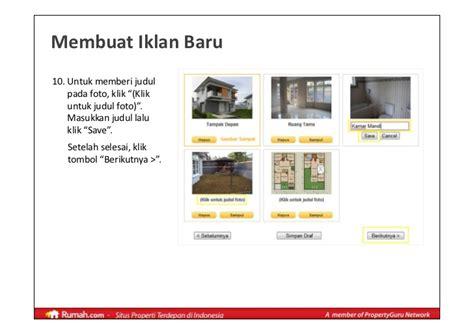 membuat iklan rumah dijual panduan pembuatan iklan properti di rumah com