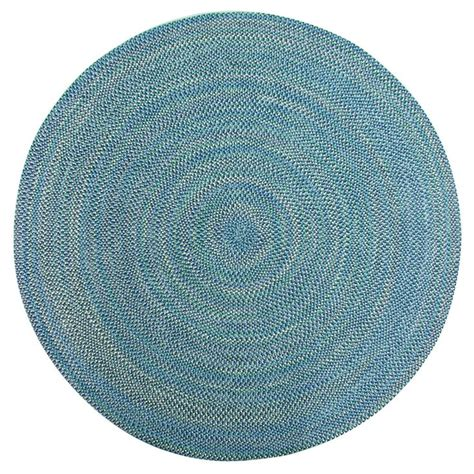 circular braided rug smithfield multi color indoor outdoor braided rug 8
