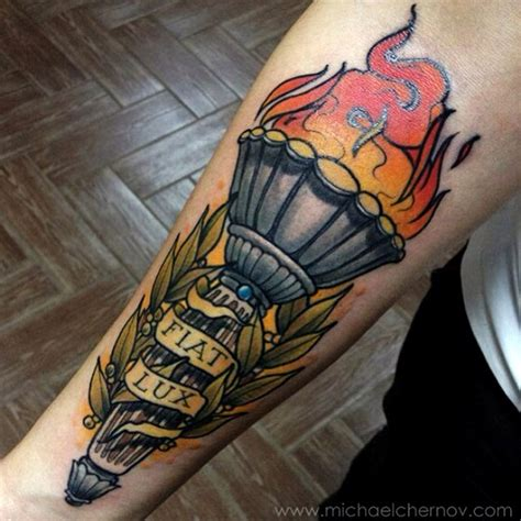 tattoo meaning torch image gallery torch tattoo